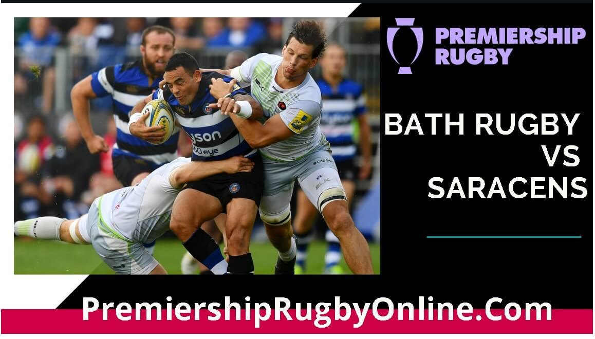 Live Bath Rugby vs Saracens Streaming