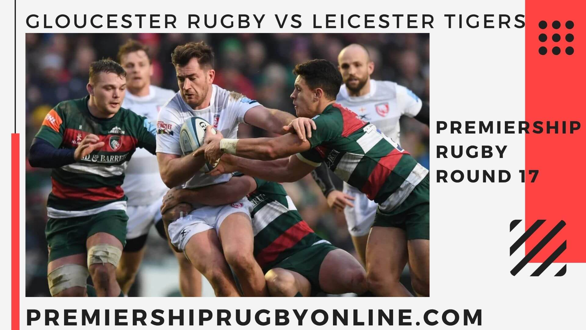 Gloucester Rugby vs Leicester Tigers  Postponed   Round 17