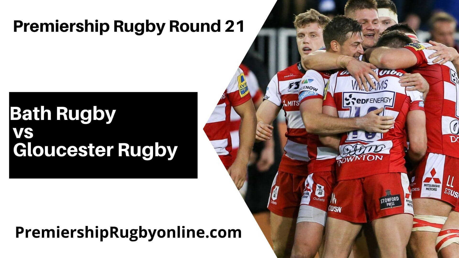 Bath Rugby vs Gloucester Rugby Live Stream   Round 21