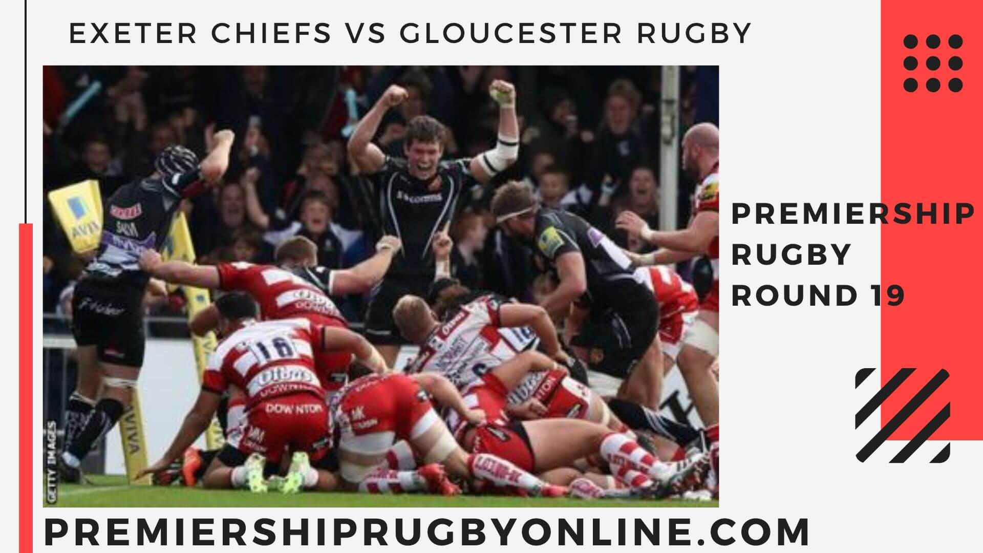 Exeter Chiefs vs Gloucester Rugby live stream   Round 19