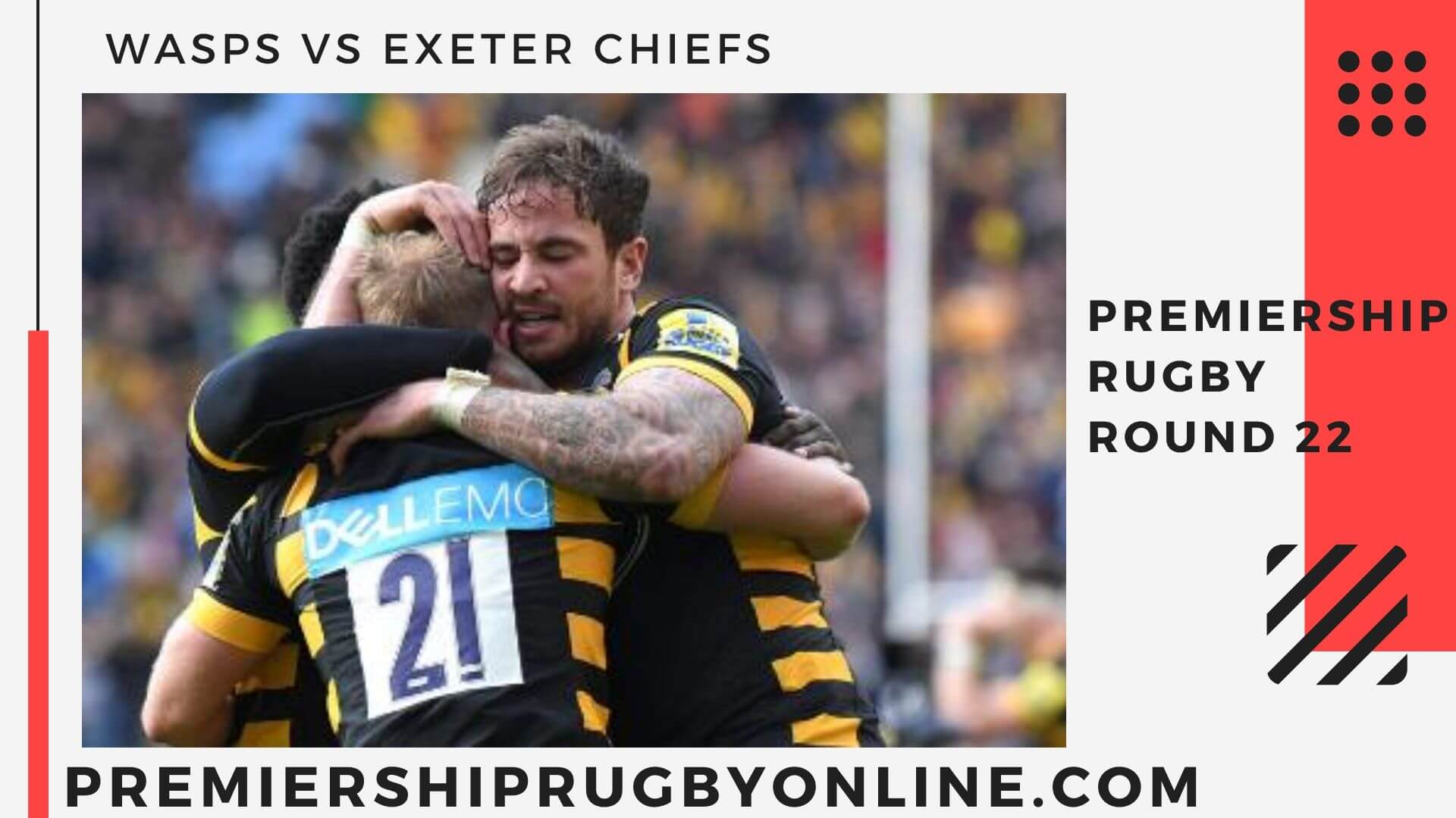 Wasps VS Exeter Chiefs Live stream   Round 22