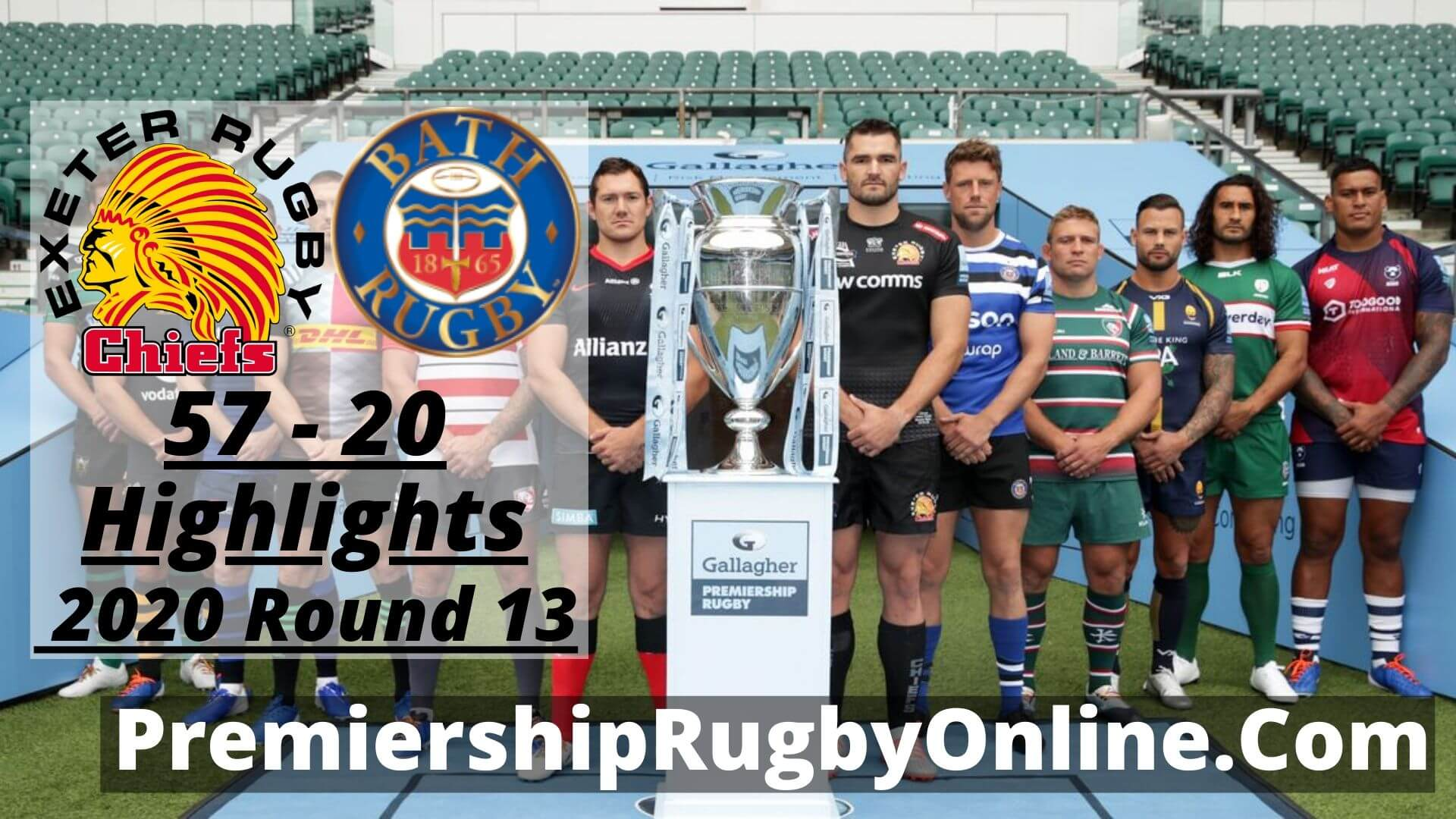 Exeter Chiefs Vs Bath Rugby Highlights 2020 RD 13
