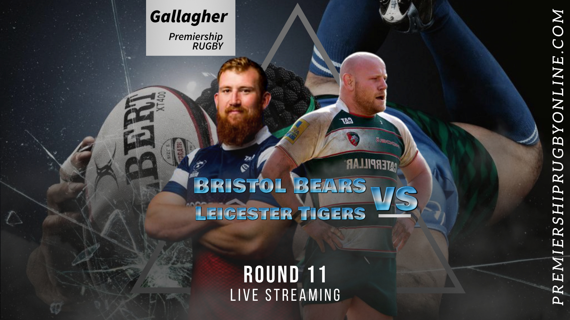 Bristol Bears Vs Leicester Tigers Live Stream 2020-21 | Premiership Rugby Round 11 slider