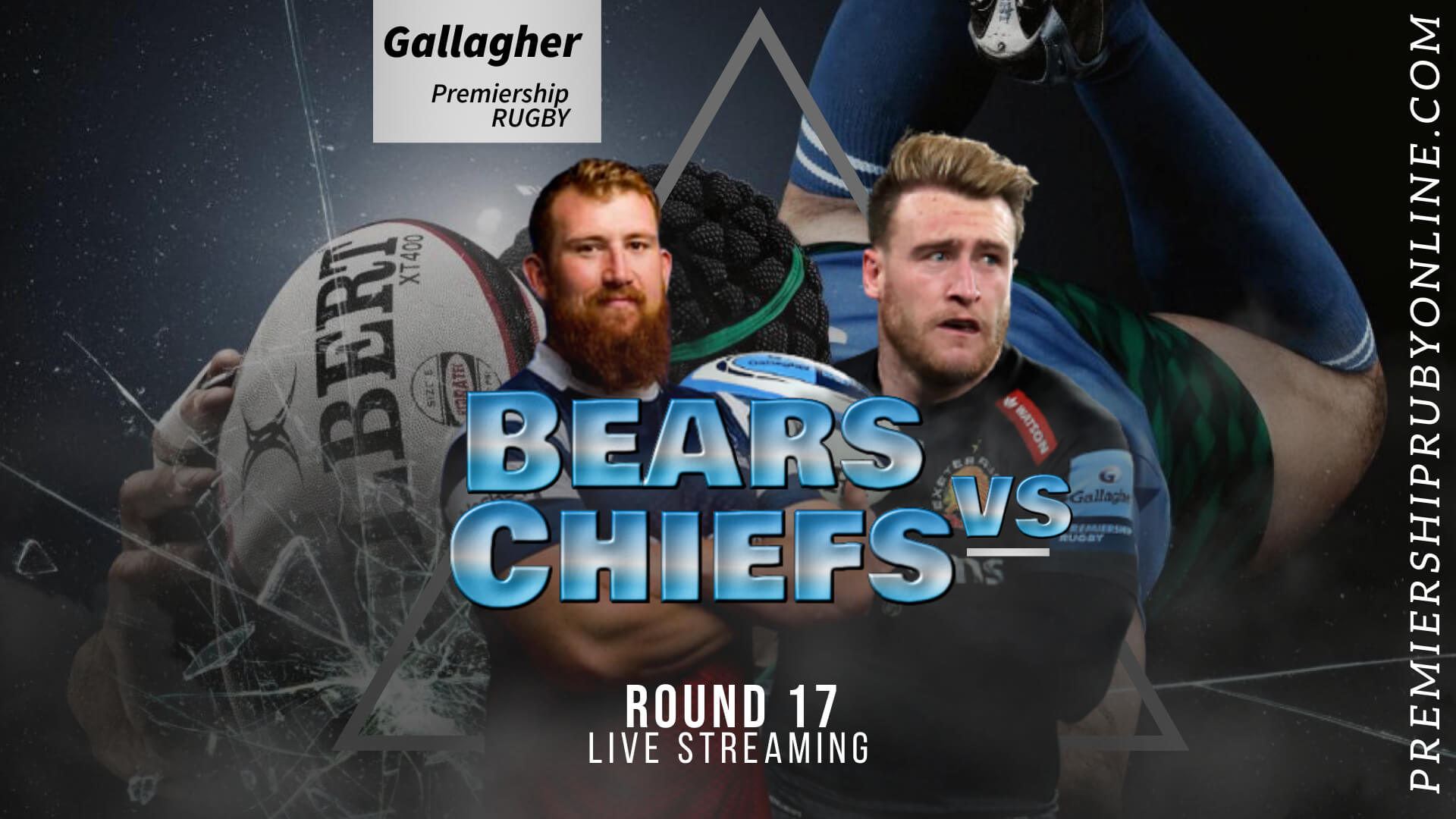 Bristol Bears Vs Exeter Chiefs Live Stream 2020-21 | Premiership Rugby RD 17 slider