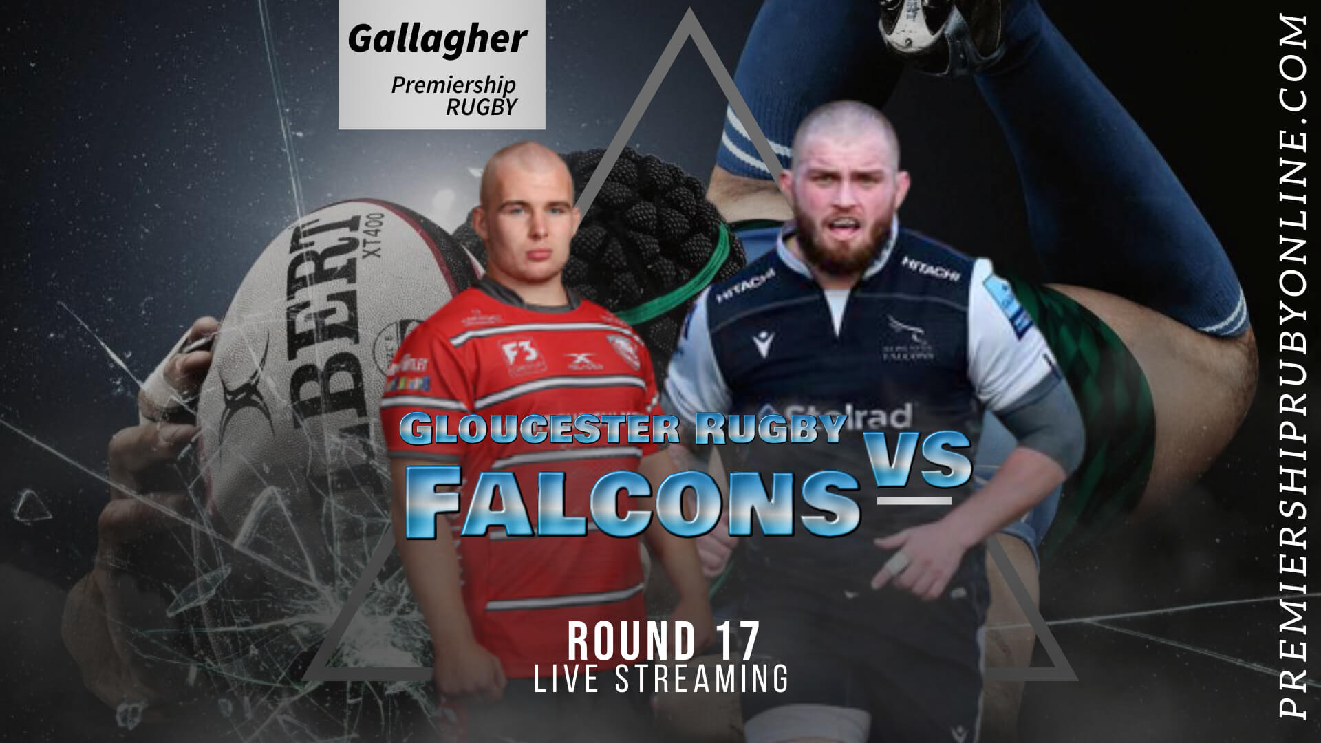 Gloucester Rugby Vs Newcastle Falcons Live Stream 2020-21 | Premiership Rugby RD 17