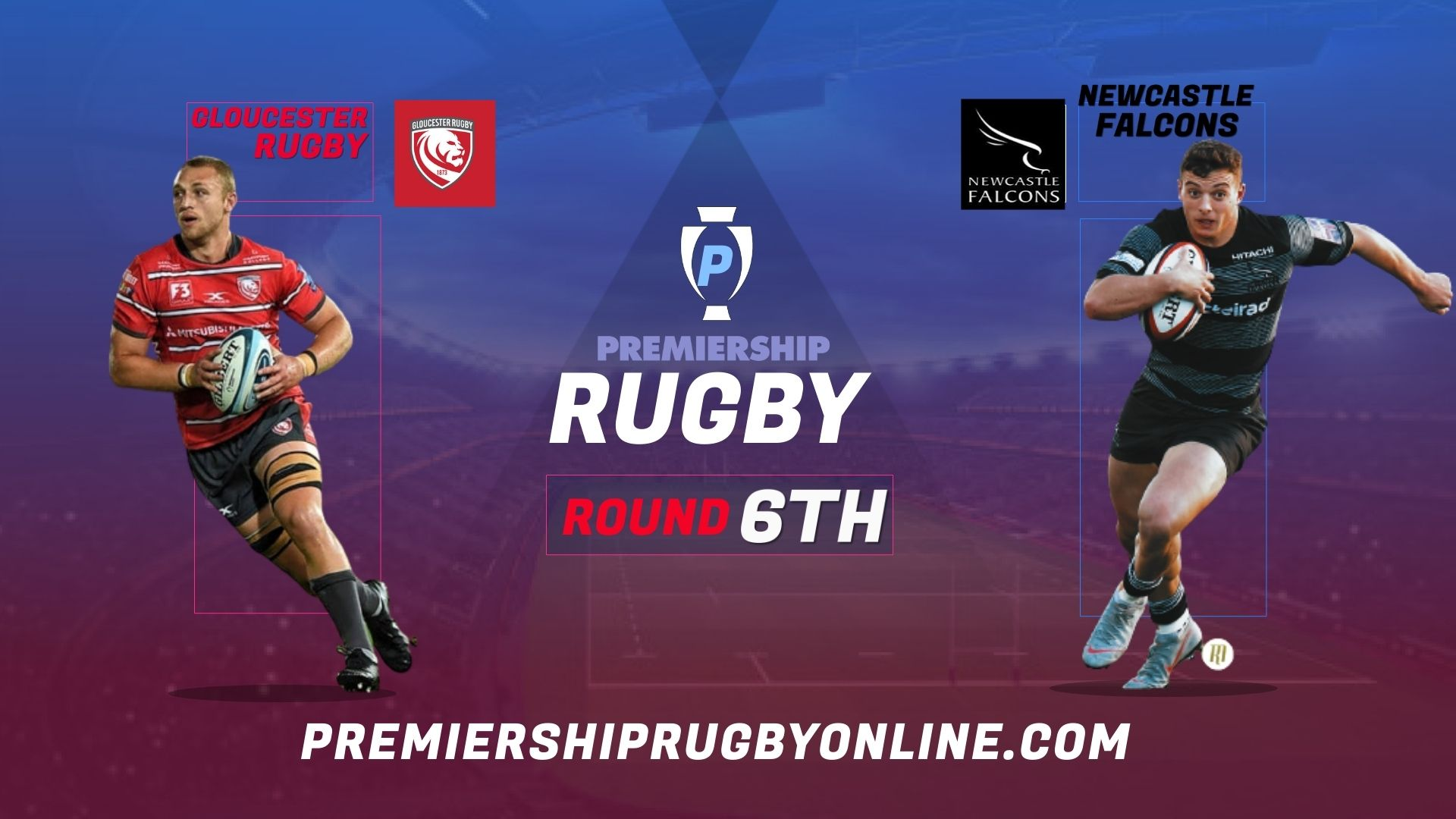 Gloucester Rugby Vs Newcastle Falcons Live Stream 2021-22 | Premiership Rugby Round 6