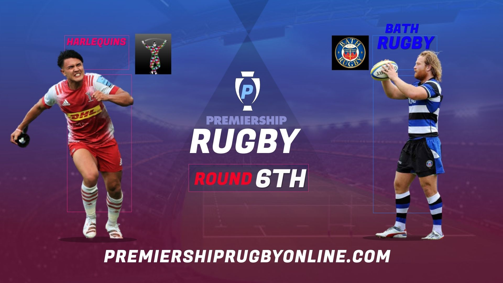 Harlequins Vs Bath Rugby Live Stream 2021-22 | Premiership Rugby Round 6
