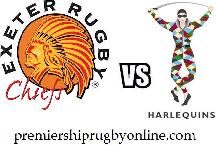 Exeter Chiefs vs Harlequins live