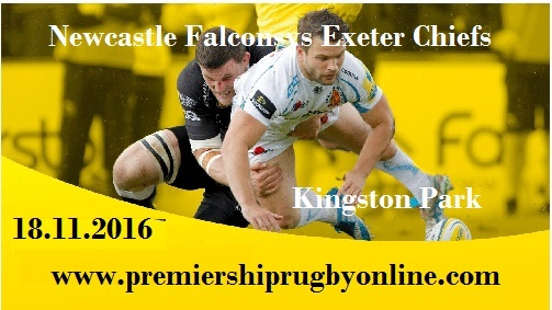 Newcastle Falcons vs Exeter Chiefs live