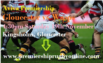 Wasps vs Gloucester live