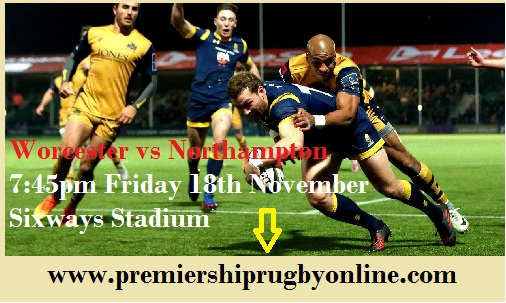 Worcester vs Northampton streaming